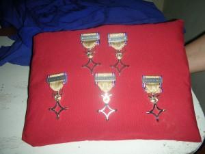 Médailles des anciens combatants