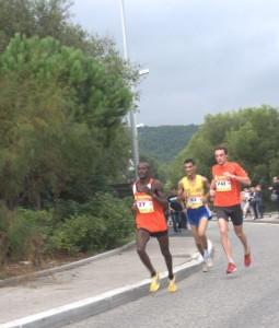 Ousseini MAHAMOUDOU, 1er junior dans la descente de la Gineste